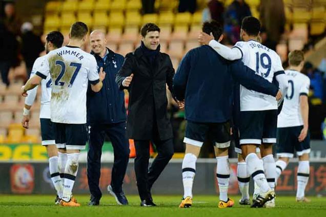 Tottenham have title faith, says Mauricio Pochettino