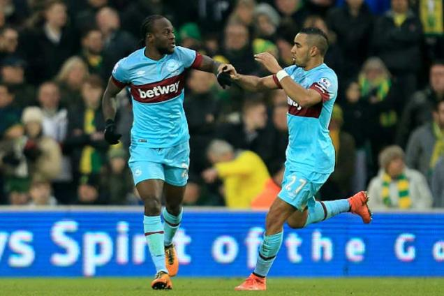 Dimitri Payet inspires West Ham to recover for 2-2 draw at Norwich
