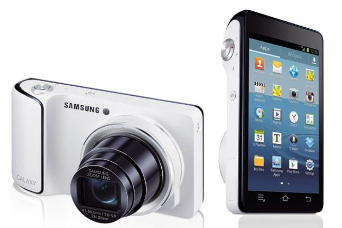 samsung unveils voice controlled galaxy camera ibnlive samsung unveils voice controlled camera 666x444