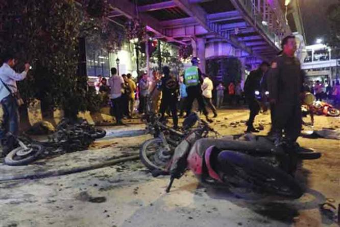 blast_bangkok - Bangkok deadly blast - Philippine Business News
