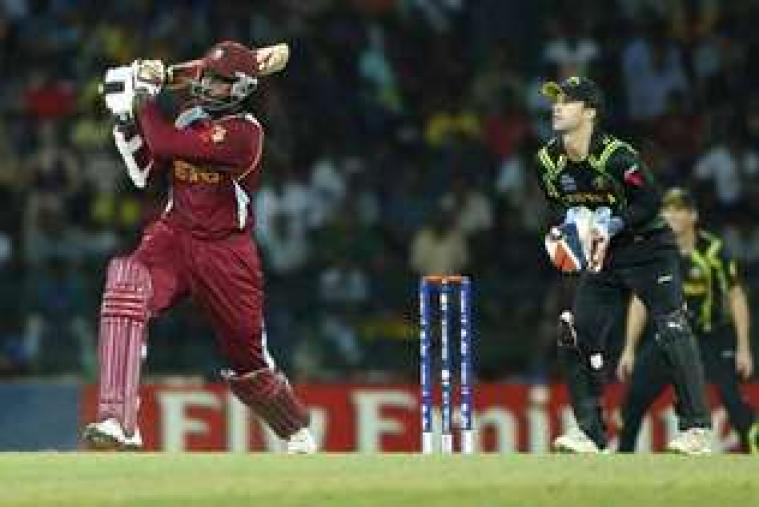 Chris Gayle won Man-of-the-Match award for his blistering innings of 75 off 41 balls. (AP Photo)