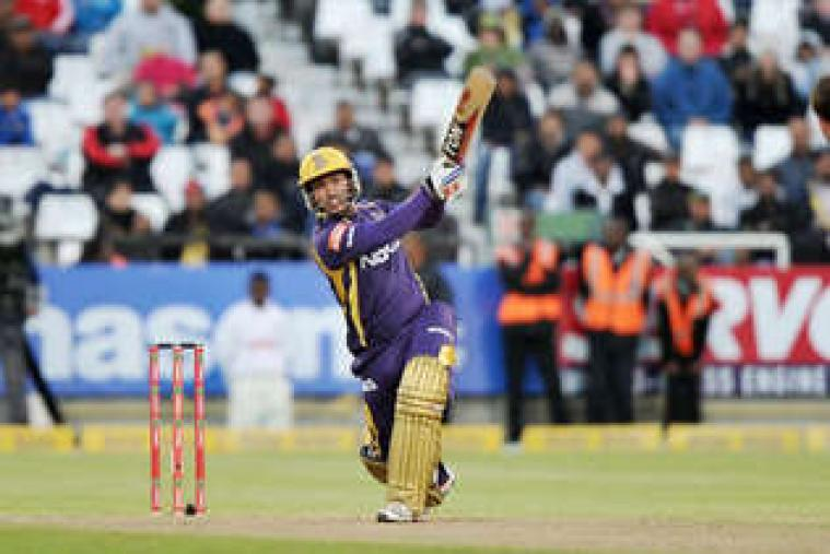 Skipper Gautam Gambhir top scored with 44 off 36 balls. He smashed four boundaries and a six in his innings. (AP Photo)