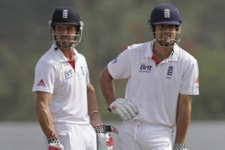 Alastair Cook and Nick Compton played beautifully to share 166 for the first wicket. (AP Photo)
