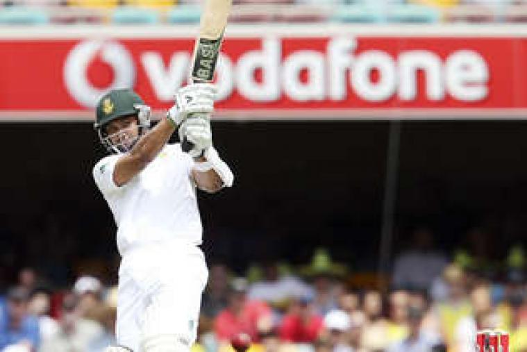 Alviro Petersen departed for 64 runs after a partnership of 90-run with Hashim Amla for the second wicket. (AP Photo)