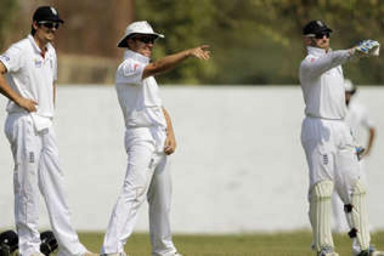 In reply to England's 521 runs Haryana were all out for 333 runs as pacer Stuart Meaker pick up three wickets.