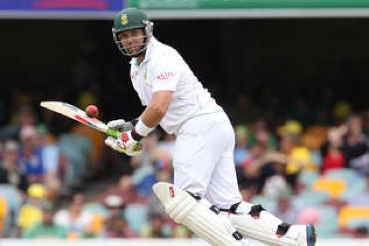 Hashim Amla (104) too scored his 17th Test ton. He was the first wicket to go for South Africa Sunday morning. (AP Photo)