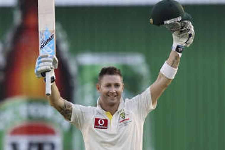 Ed Cowan notched up his maiden Test hundred. His 136 saved the hosts from a very precarious situation. (AP Photo)