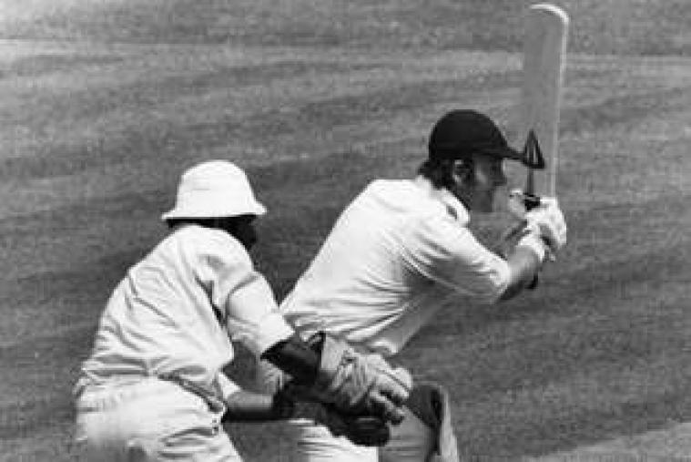 Greig hit a fine century at Eden Gardens in 1976-77 as England took a 2-0 series lead. (Getty Images).