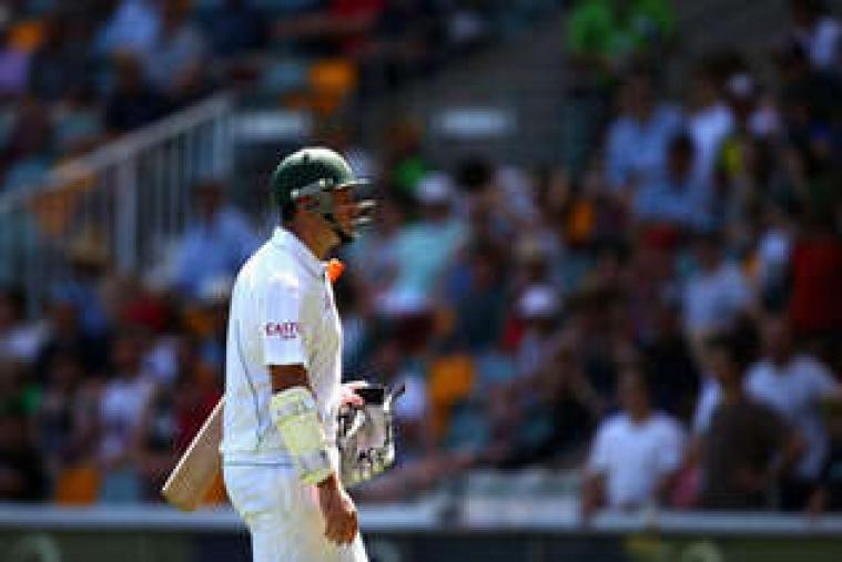 A view of play during day five of the First Test match between Australia and South Africa at The Gabba. (Getty Images)