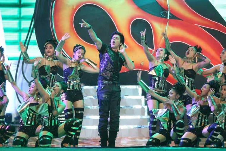 Bollywood superstar and co-owner of the defending champions Kolkata Knight Riders, Shah Rukh Khan, was the show-stopper of the opening night.