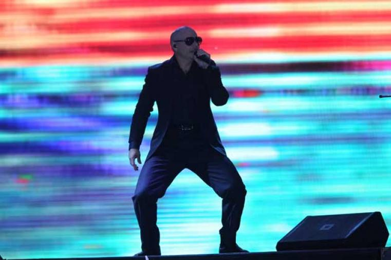 The organisers saved the best for the last with American rap artist Pitbull getting a huge welcome from the Kolkata crowd.