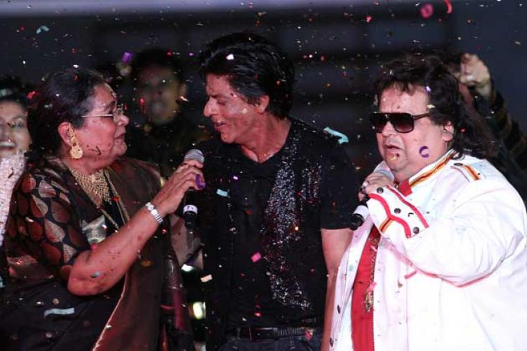 Among the guests at the ceremony were Kolkata and Bollywood's iconic singers/musicians Bappi Lahiri and Usha Uthup, who also enthralled the crowd by singing some of their evergreen disco numbers.