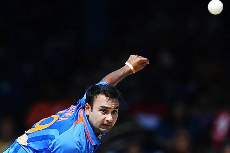 Legspinner Amit Mishra has booked his place in the squad following a solid showing in the Ranji Trophy and IPL 6. Mishra has also come up with some useful innings with the bat. (AFP)