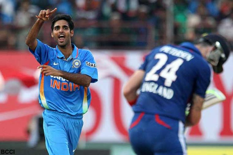 Bhuvneshwar Kumar made a strong start to his international limited-overs career and a lot is expected of him in seam-friendly conditions in England. India will rely on his incisive bowling in England.