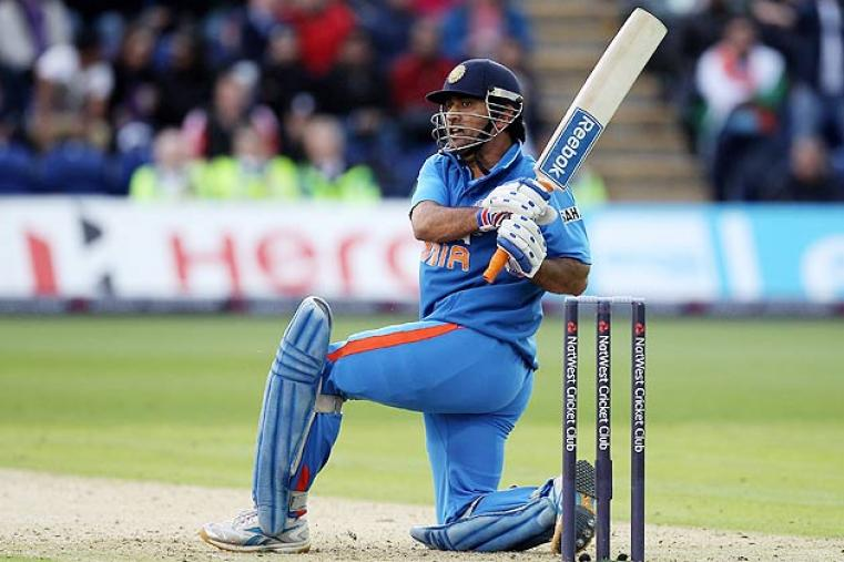 MS Dhoni will lead the Indian side for the second time in Champions Trophy. He led the 'Men in Blue' in 2009 when they were ousted in the group stage. (Getty Images)