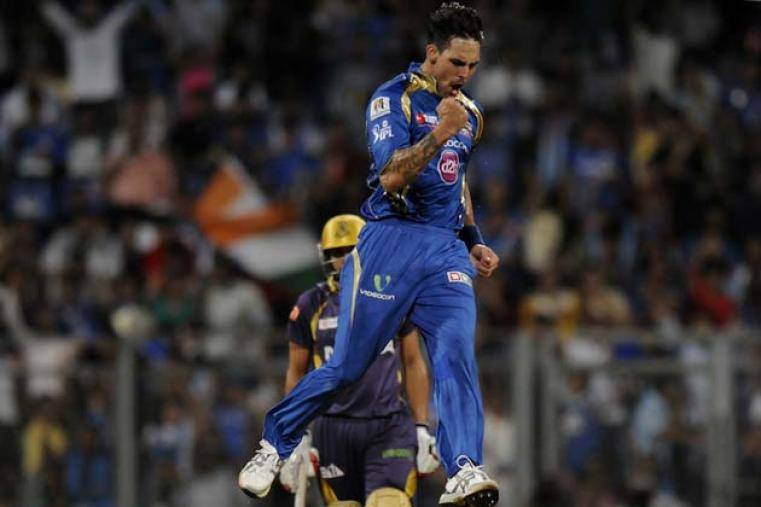 Mumbai Indians' bowling was a powerful bunch, mainly due to Mitchell Johnson who spearheaded the bowling attack. The Aussie left-armer rediscovered his swing and gave Mumbai their first breakthrough more often than not. Johnson has 22 wickets from 16 matches with a best of 3 for 27 against Chennai.