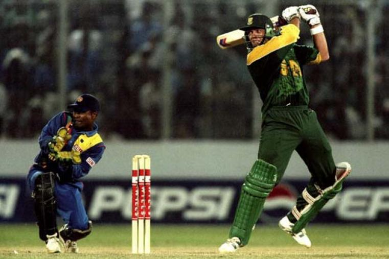 Starring in the semi-final and final was Jacques Kallis. The South African allrounder scored a hundred to down Sri Lanka in the semi-final and then took 5 for 30 in the final.