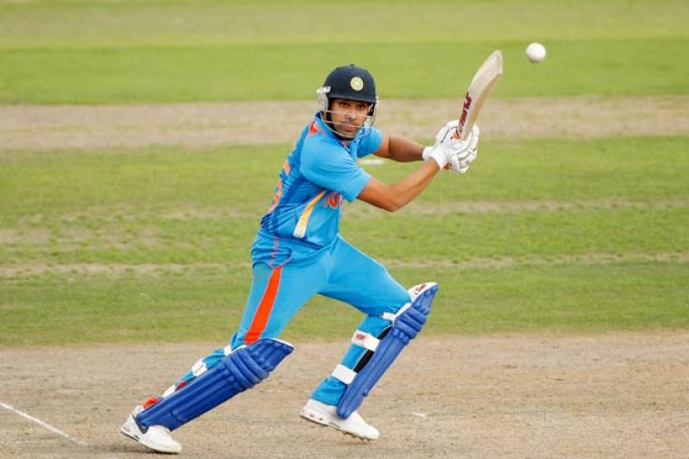 Rohit Sharma, who is averaging almost 54 in IPL 6, has been given a chance to bolster the middle-order that will be without Yuvraj Singh. (Getty Images)