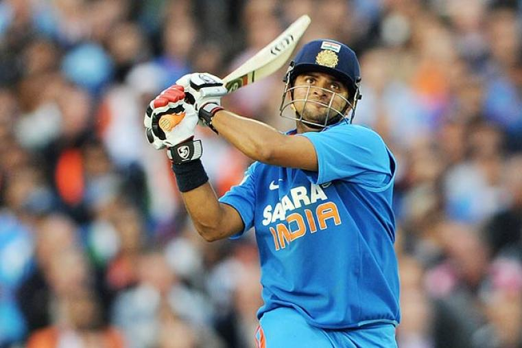 Suresh Raina is now a permanent feature of India's limited-overs squads and will be important to India's plans in England. (Getty Images)