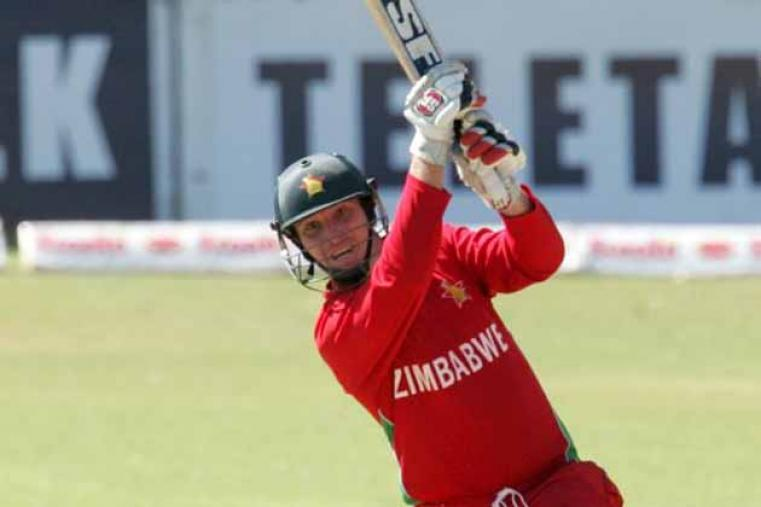 Brendan Taylor played unorthodox strokes and provided his side the much-needed momentum with a quick-fire 40 off 25 balls. (AFP)