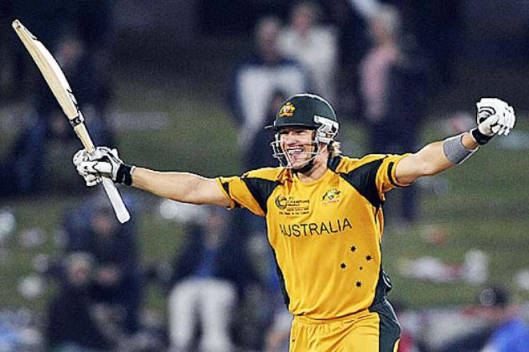 Shane Watson followed a century against England in the semi-finals with an unbeaten 105 as  Australia beat New Zealand by six wickets to hold on to the Champions Trophy title. (Getty Images)