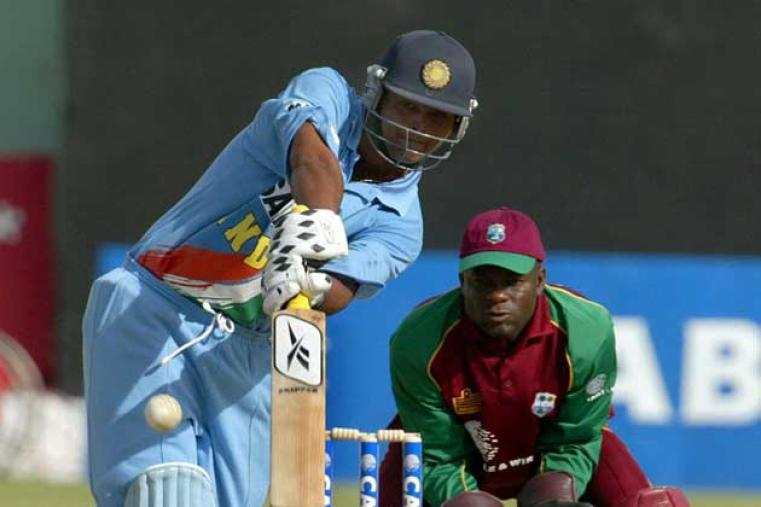 India won the third ODI at Kensington Oval by seven wickets, with Dinesh Mongia top-scoring with 74 as a target of 187 was easily achieved. (AFP)