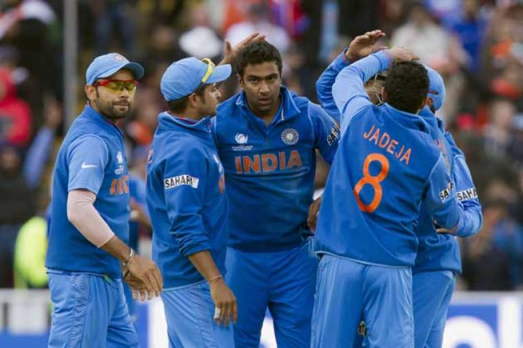 Ashwin picked up two quick wickets in the form of Root and Trott to get India a flying start. (AP Photo)