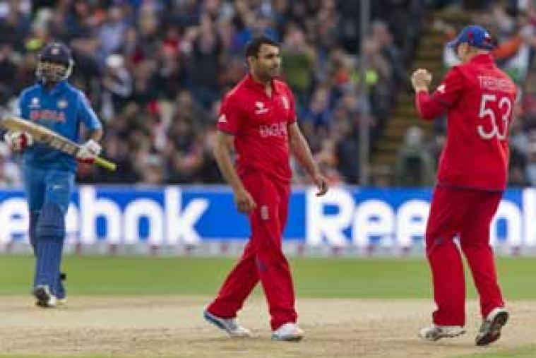 Ravi Bopara was the best player for England as he picked up three wickets and scored 30 off 25 balls. (AP Photo)
