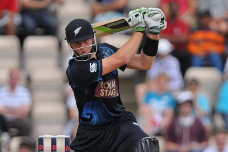 Martin Guptill went from strength to strength and added a century run stand with Kane Williamson for the second wicket.