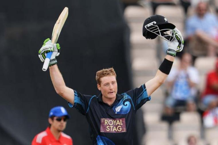 Guptill registered his second consecutive hundred. His 189* is the highest individual score in an ODI by a New Zealand player.