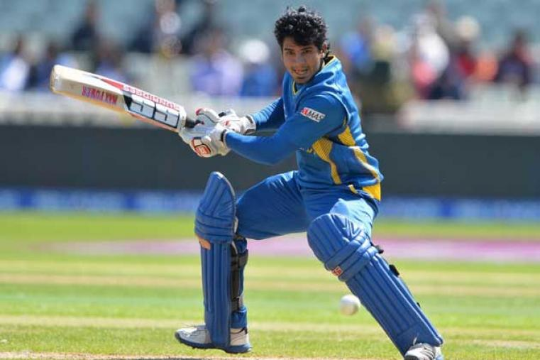 Kusal Perera scored a 94-ball 82 as Sri Lanka piled up 333 for 3 against India. (AFP)