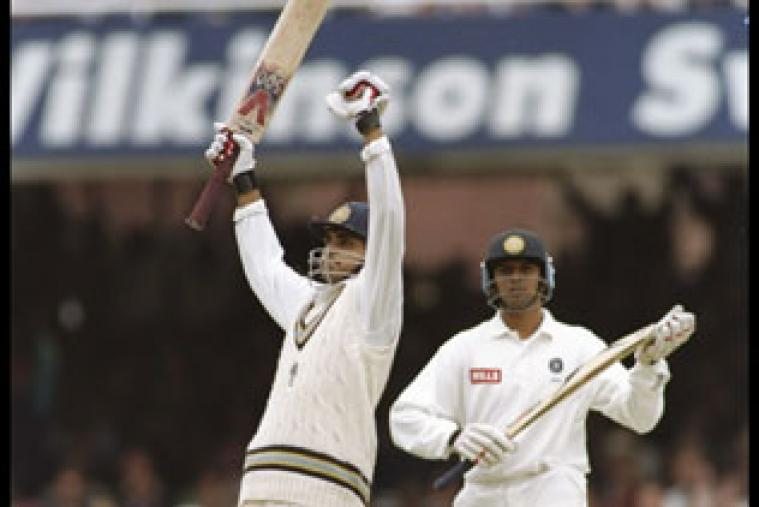 Sourav Ganguly made his Test debut for India at the Lord's Cricket Ground in 1996, becoming the third player to score a century on debut (131) at the Mecca of Cricket.