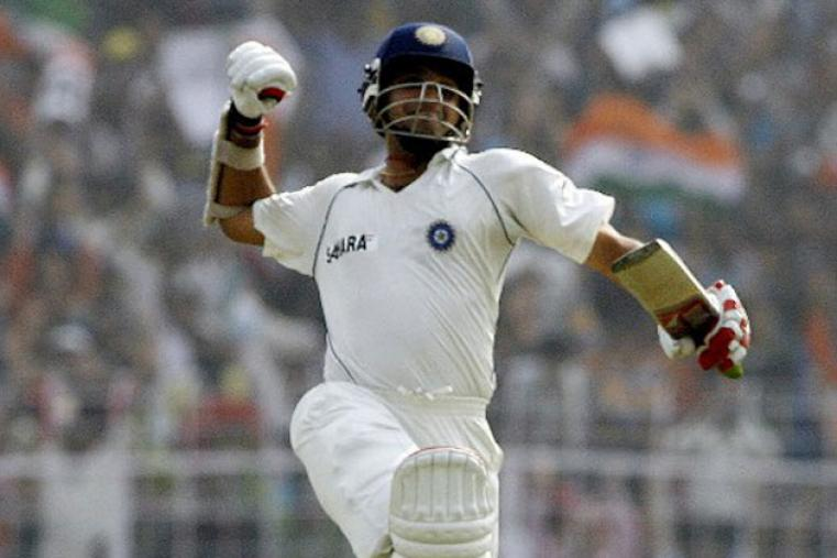 At 35 years old, Ganguly notched up his first Test double hundred. His 239 came against Pakistan in Bangalore 2007, which included 30 fours and two sixes.