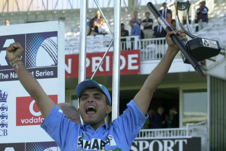 Under Ganguly, India started winning abroad. But none of those victories were more memorable than the 2002 Natwest Series in England where India achieved England's target of 326 in a historical chase at Lord's.