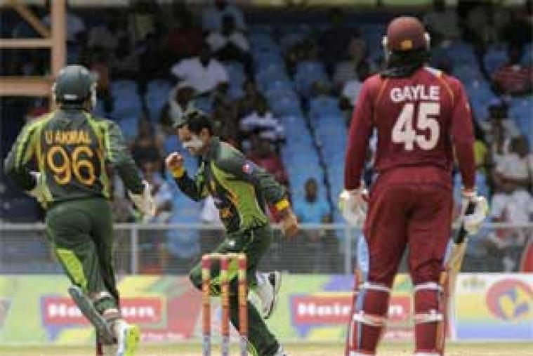 After Windies opted to bat first, Pakistan skipper Mohammed Hafeez scalped the openers Johnson Charles and Chris Gayle early. (WICB Media)