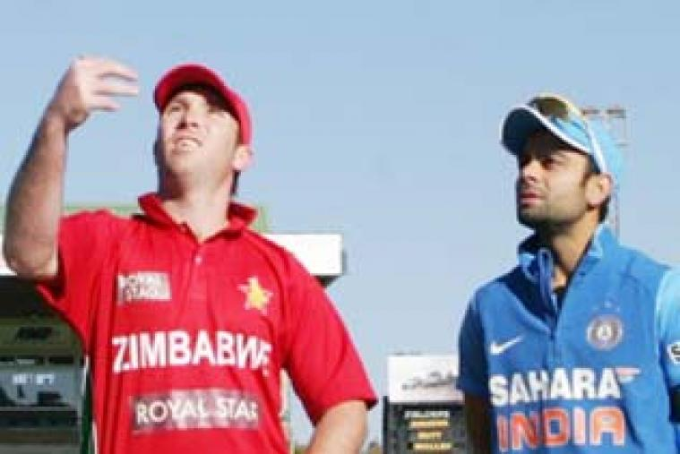 Zimbabwe captain Brendan Taylor won the toss and opted to field against India in the second ODI at Harare. (AFP)