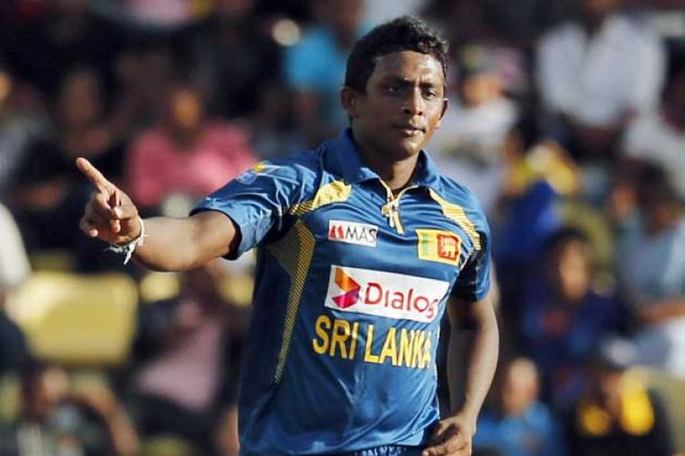 Ajantha Mendis picked up three wickets giving away 35 runs. His victims included Ab de Villiers, Fahad Behardien and Robin Peterson.
