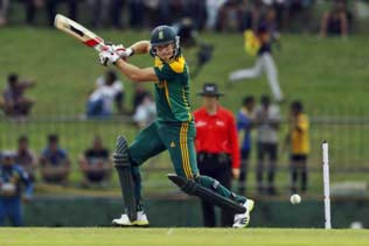 Coming to bat down the order, David Miller top-scored for South Africa with 85 and gave his side a respectable total.
