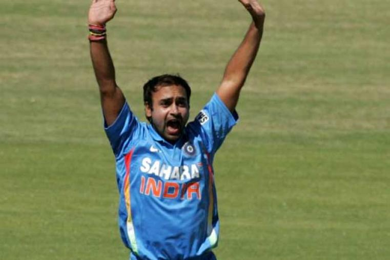 Amit Mishra was India's most successful bowler picking up three wickets including that of Raza.