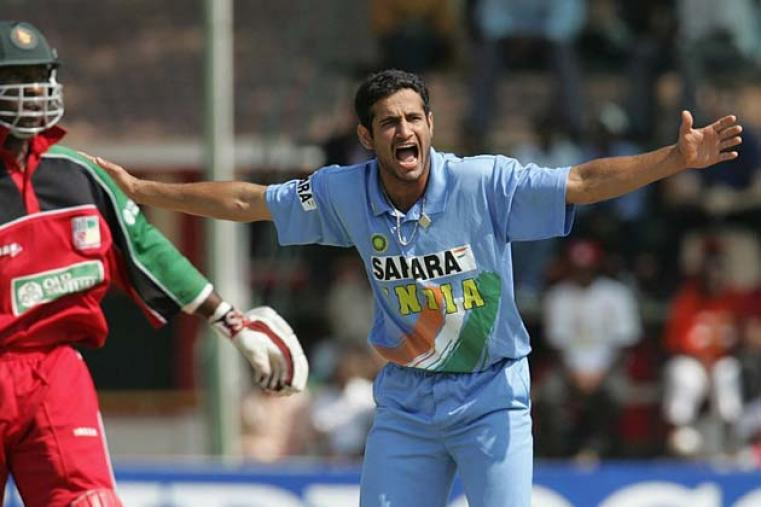 Inspired by Irfan Pathan's 5 for 27, India trounced Zimbabwe by 161 runs at Harare to make a resounding comeback in the tri-series.