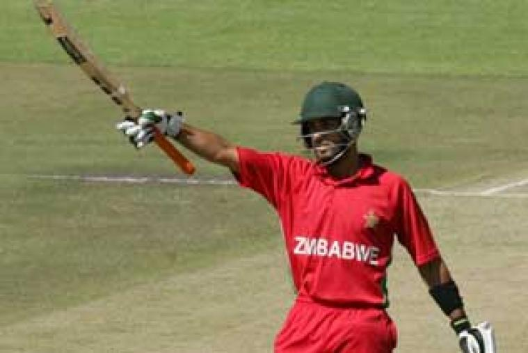 Opener Sikandar Raza top scored for Zimbabwe with 82 and held up the innings from one end.