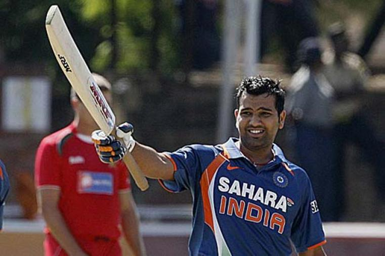 In the series opener in Bulawayo, Rohit Sharma scored his maiden ODI century to drive India to 285 for 5.