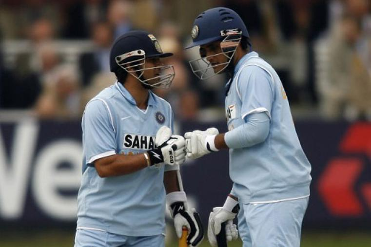 The opening pair of Ganguly and Sachin Tendulkar smashed record books all over the globe. The duo opened for the first time in a match against South Africa in 1997 and went on to amass 6609 runs from 136 innings, which included 21 century stands.
