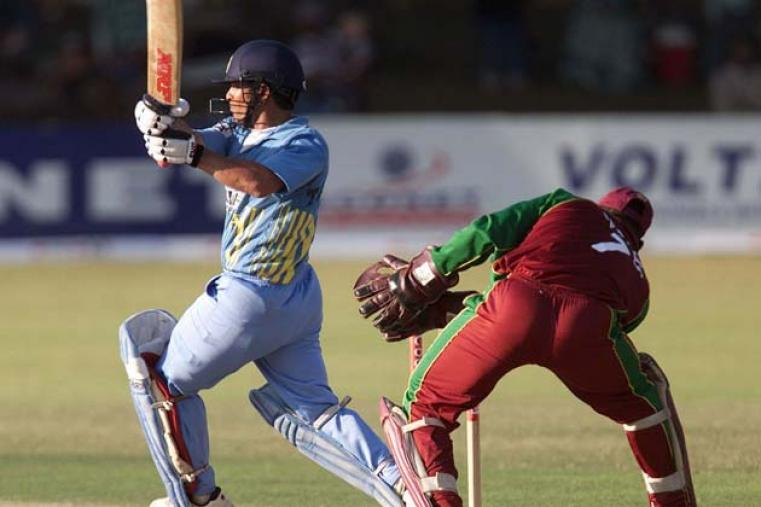 Tendulkar's 81 not out helped India beat West Indies by six wickets at Bulawayo. It was the 40th time that Tendulkar was named Man of the Match.