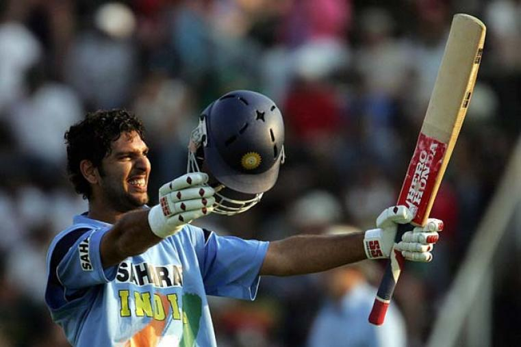 India made it three wins in a row by beating Zimbabwe by four wickets at Harare, this time thanks to a century from Yuvraj Singh.