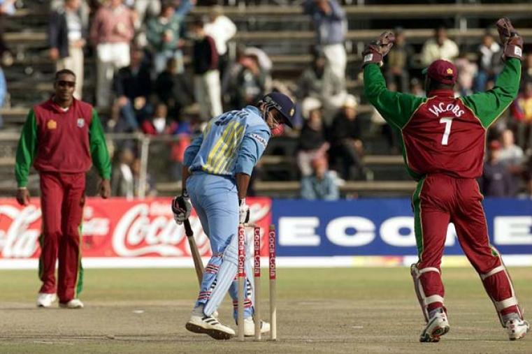 But in the final, Tendulkar's form ran out and India were beaten by 16 runs.