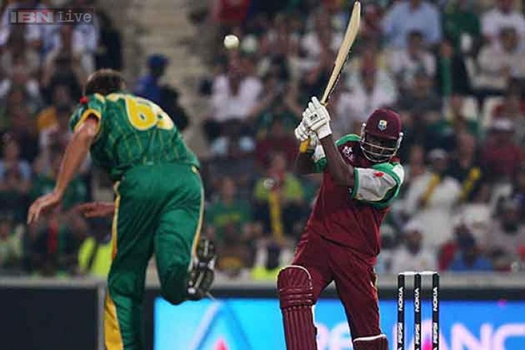 Chris Gayle scored the first century in Twenty20 internationals, against South Africa in the first match of the inaugural World Twenty20 in 2007. His 10 sixes in his knock of 117 was double the previous record of five in a T20I.