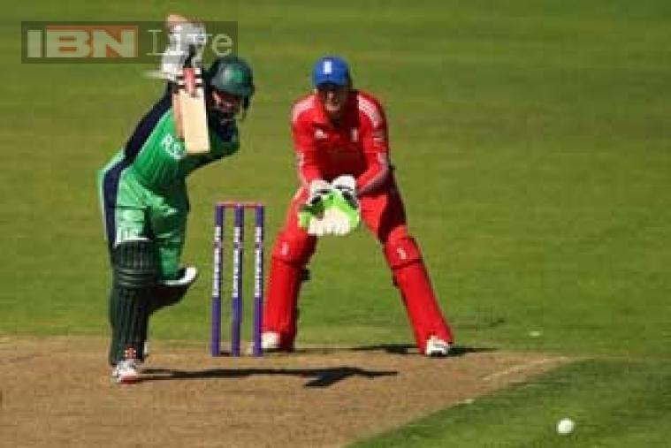 William Porterfield was the lead scorer for Ireland as he made 112 off 142 with 14 boundaries and a six. (Getty Images)