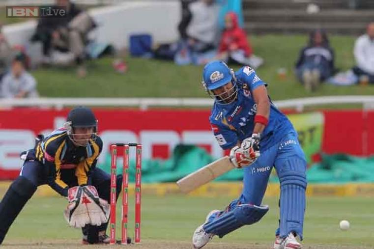 Rohit Sharma was handed over the captaincy of Mumbai Indians midway through the tournament and he thrived in his new role scoring more than 500 runs and winning the trophy for his team. (Getty Images)