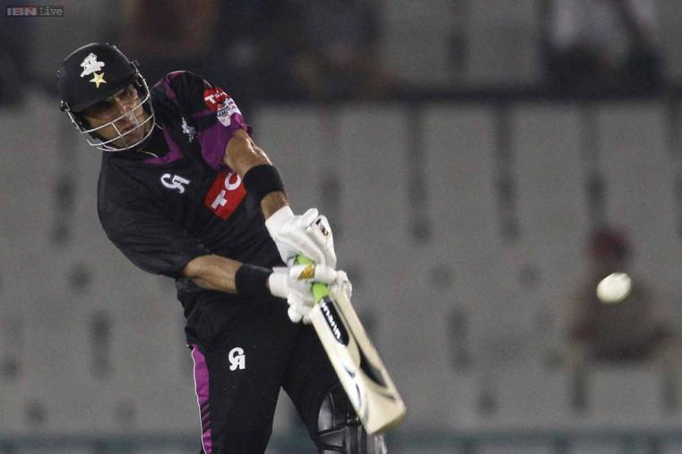 Misbah-ul-Haq was once again the lone warrior for Wolves, scoring 56* off 40 balls. (CLT20.com)